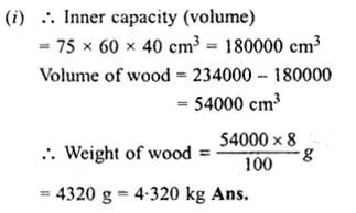 RS Aggarwal Class 8 Solutions Chapter 20 Volume and Surface Area of Solids Ex 20A 24.1