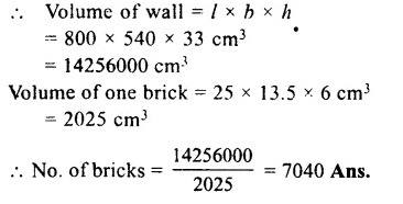 RS Aggarwal Class 8 Solutions Chapter 20 Volume and Surface Area of Solids Ex 20A 9.1