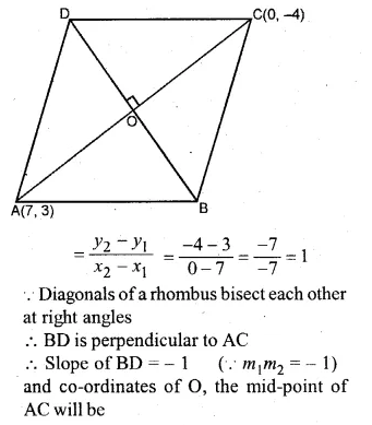 ML Aggarwal Class 10 Solutions for ICSE Maths Chapter 12 Equation of a Straight Line Chapter Test Q13.1
