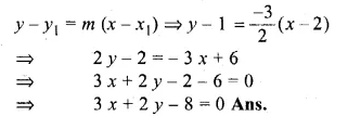ML Aggarwal Class 10 Solutions for ICSE Maths Chapter 12 Equation of a Straight Line Chapter Test Q14.3