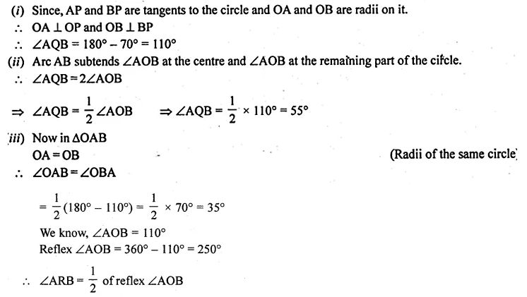 ML Aggarwal Class 10 Solutions for ICSE Maths Chapter 15 Circles Ex 15.3 Q18.2