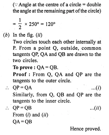 ML Aggarwal Class 10 Solutions for ICSE Maths Chapter 15 Circles Ex 15.3 Q18.3