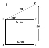 RS Aggarwal Solutions Class 10 Chapter 14Height and Distance Ex 14a 32