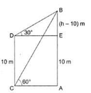 RS Aggarwal Solutions Class 10 Chapter 14Height and Distance Ex 14a 40