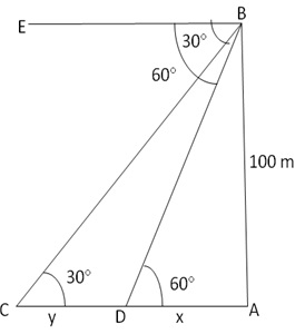 RS Aggarwal Solutions Class 10 Chapter 14Height and Distance Ex 14a 52