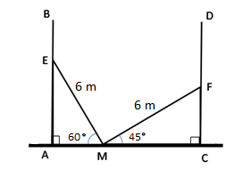 RS Aggarwal Solutions Class 10 Chapter 14Height and Distance Ex 14a 58