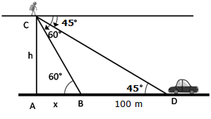 RS Aggarwal Solutions Class 10 Chapter 14Height and Distance Ex 14a 60