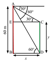 RS Aggarwal Solutions Class 10 Chapter 14Height and Distance Ex 14a 64