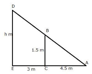 RS Aggarwal Solutions Class 10 Chapter 14Height and Distance MCQ 21