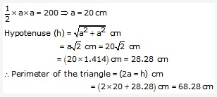 RS Aggarwal Solutions Class 10 Chapter 17 Perimeter and Areas of Plane Figures Ex 17a 20