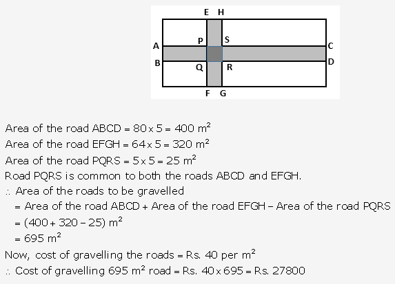 RS Aggarwal Solutions Class 10 Chapter 17 Perimeter and Areas of Plane Figures Ex 17b 16