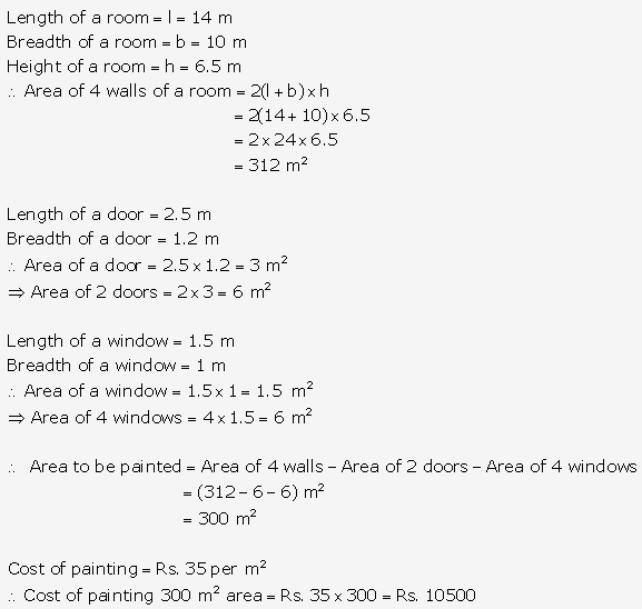 RS Aggarwal Solutions Class 10 Chapter 17 Perimeter and Areas of Plane Figures Ex 17b 17