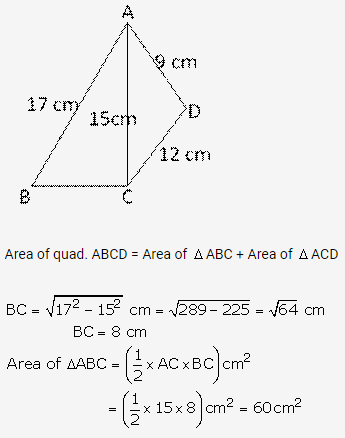 RS Aggarwal Solutions Class 10 Chapter 17 Perimeter and Areas of Plane Figures Ex 17b 27