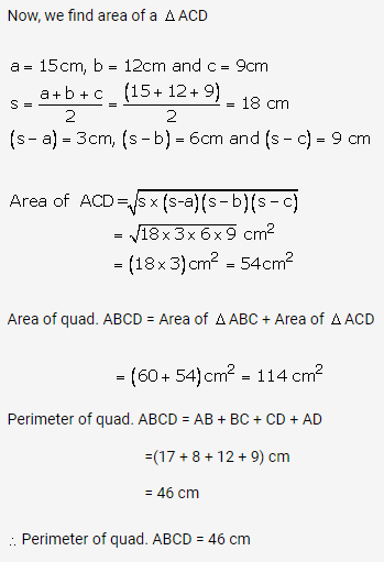RS Aggarwal Solutions Class 10 Chapter 17 Perimeter and Areas of Plane Figures Ex 17b 28