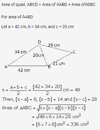 RS Aggarwal Solutions Class 10 Chapter 17 Perimeter and Areas of Plane Figures Ex 17b 29