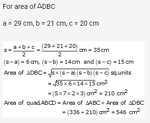 RS Aggarwal Solutions Class 10 Chapter 17 Perimeter and Areas of Plane Figures Ex 17b 30