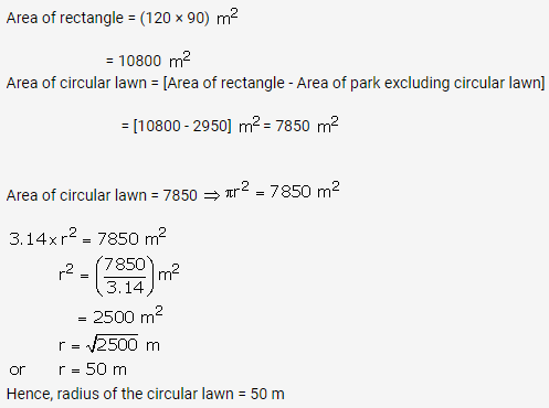 RS Aggarwal Solutions Class 10 Chapter 18 Areas of Circle, Sector and Segment Ex 18a 47