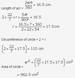 RS Aggarwal Solutions Class 10 Chapter 18 Areas of Circle, Sector and Segment Ex 18b 13
