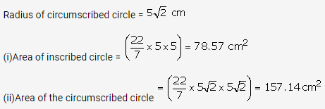 RS Aggarwal Solutions Class 10 Chapter 18 Areas of Circle, Sector and Segment Ex 18b 31