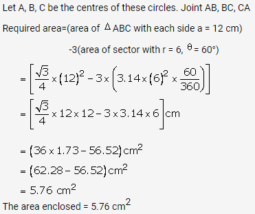 RS Aggarwal Solutions Class 10 Chapter 18 Areas of Circle, Sector and Segment Ex 18b 48