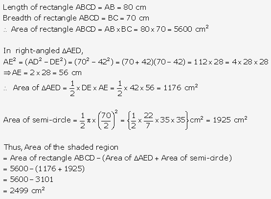 RS Aggarwal Solutions Class 10 Chapter 18 Areas of Circle, Sector and Segment Ex 18b 54