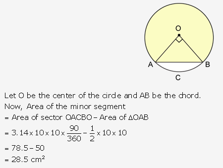 RS Aggarwal Solutions Class 10 Chapter 18 Areas of Circle, Sector and Segment Ex 18b 60