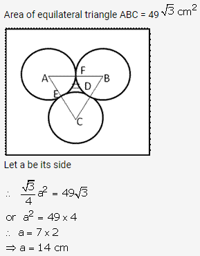 RS Aggarwal Solutions Class 10 Chapter 18 Areas of Circle, Sector and Segment Ex 18b 63