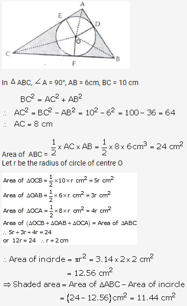 RS Aggarwal Solutions Class 10 Chapter 18 Areas of Circle, Sector and Segment Ex 18b 70