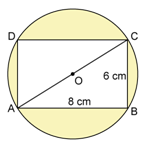 RS Aggarwal Solutions Class 10 Chapter 18 Areas of Circle, Sector and Segment Test Yourself 4