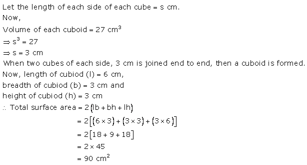 RS Aggarwal Solutions Class 10 Chapter 19 Volume and Surface Areas of Solids Ex 19a 1
