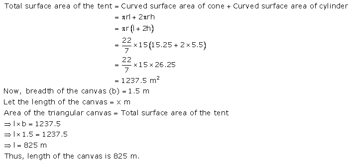 RS Aggarwal Solutions Class 10 Chapter 19 Volume and Surface Areas of Solids Ex 19a 10
