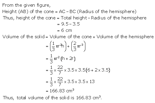 RS Aggarwal Solutions Class 10 Chapter 19 Volume and Surface Areas of Solids Ex 19a 15