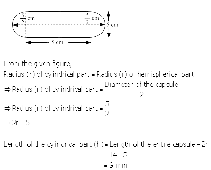 RS Aggarwal Solutions Class 10 Chapter 19 Volume and Surface Areas of Solids Ex 19a 22