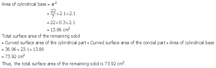RS Aggarwal Solutions Class 10 Chapter 19 Volume and Surface Areas of Solids Ex 19a 29