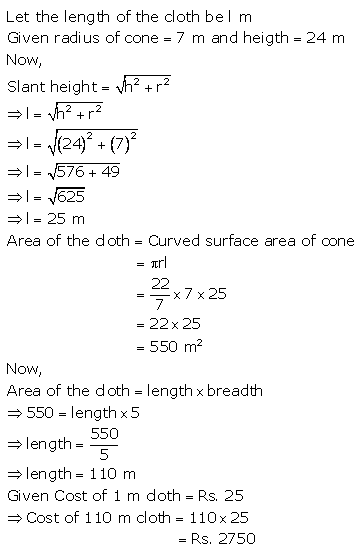 RS Aggarwal Solutions Class 10 Chapter 19 Volume and Surface Areas of Solids Ex 19a 4