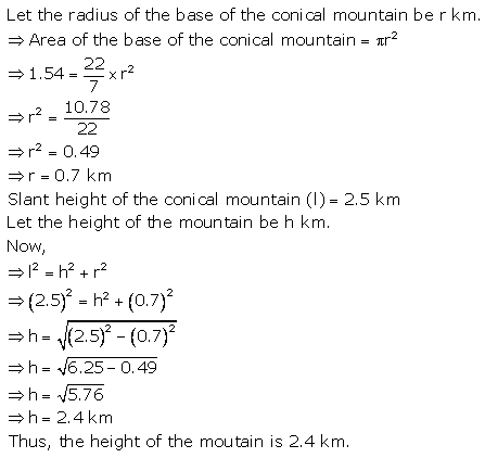 RS Aggarwal Solutions Class 10 Chapter 19 Volume and Surface Areas of Solids Ex 19a 6