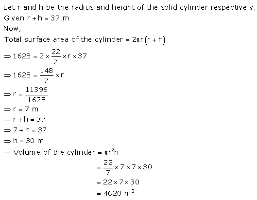 RS Aggarwal Solutions Class 10 Chapter 19 Volume and Surface Areas of Solids Ex 19a 7