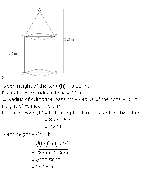 RS Aggarwal Solutions Class 10 Chapter 19 Volume and Surface Areas of Solids Ex 19a 9