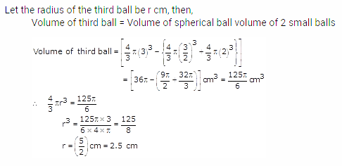RS Aggarwal Solutions Class 10 Chapter 19 Volume and Surface Areas of Solids Ex 19b 11