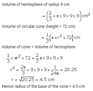 RS Aggarwal Solutions Class 10 Chapter 19 Volume and Surface Areas of Solids Ex 19b 13