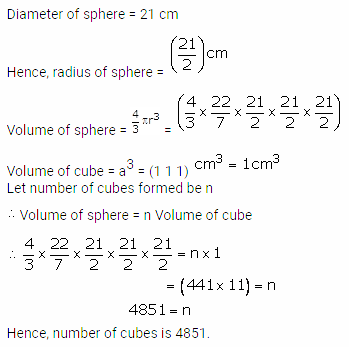 RS Aggarwal Solutions Class 10 Chapter 19 Volume and Surface Areas of Solids Ex 19b 14