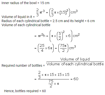 RS Aggarwal Solutions Class 10 Chapter 19 Volume and Surface Areas of Solids Ex 19b 8