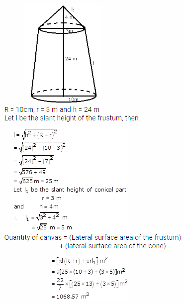 RS Aggarwal Solutions Class 10 Chapter 19 Volume and Surface Areas of Solids Ex 19c 15