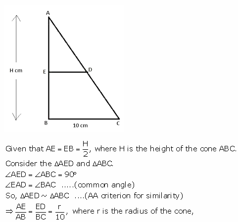 RS Aggarwal Solutions Class 10 Chapter 19 Volume and Surface Areas of Solids Ex 19c 19