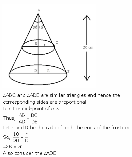 RS Aggarwal Solutions Class 10 Chapter 19 Volume and Surface Areas of Solids Ex 19c 23
