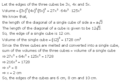 RS Aggarwal Solutions Class 10 Chapter 19 Volume and Surface Areas of Solids Ex 19d 30