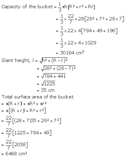 RS Aggarwal Solutions Class 10 Chapter 19 Volume and Surface Areas of Solids Ex 19d 36