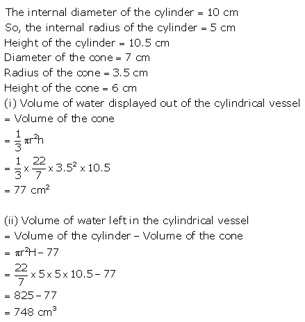 RS Aggarwal Solutions Class 10 Chapter 19 Volume and Surface Areas of Solids Ex 19d 41