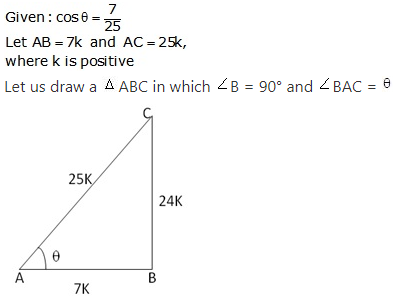 RS Aggarwal Solutions Class 10 Chapter 5 Trigonometric Ratios Ex 5 3
