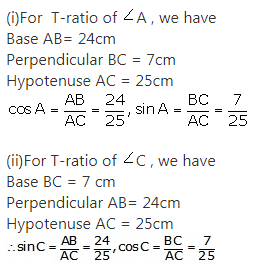 RS Aggarwal Solutions Class 10 Chapter 5 Trigonometric Ratios Ex 5 46